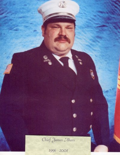11 - Chief James Akers 1996 -2001
