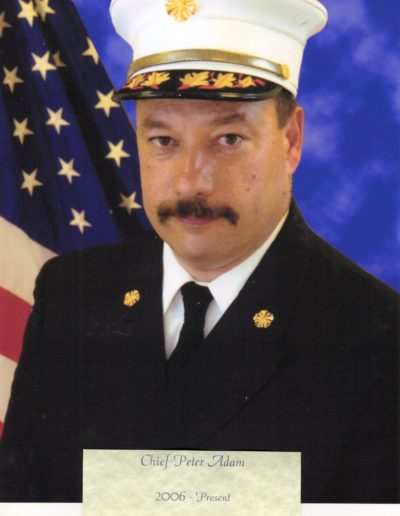 13 - Chief Peter A. Adam 2006 - Present