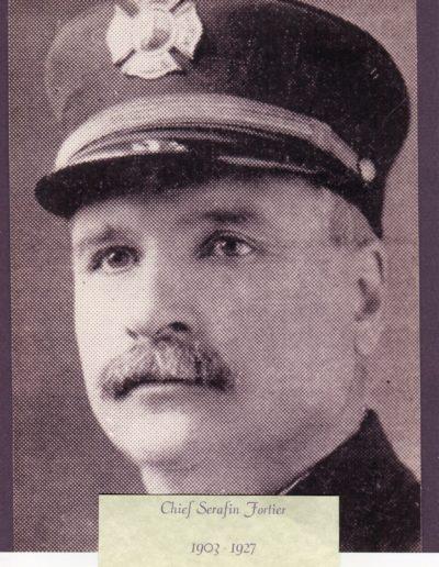 2 -Chief Serafin Fortier 1903 - 1927