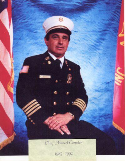 8 - Chief Marcel G. Comire 1985 - 1992