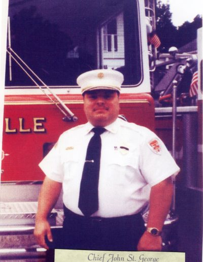 12 - Chief John St. George 2001- 2006