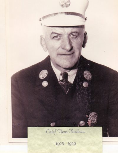3 - Chief Deus Rouleau 1928 -1929