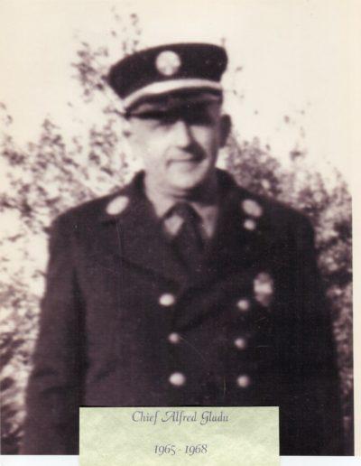 5 - Chief Alfred Gladu 1965 - 1968