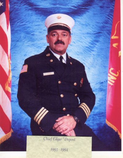 9 - Chief Edgar Dupont 1993 - 1994