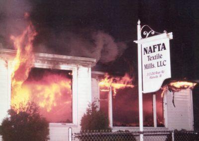 NFTA Mill Fire
